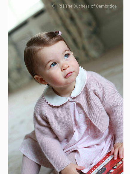Where To Get Princess Charlotte's Perfect First Birthday Portrait Ensembles – and that Adorable Walker!| The Royals, Kate Middleton, Prince George, Prince William, Princess Charlotte