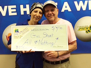 Woman With Breast Cancer Wins Lottery Twice in Less Than Three Months: 'We're Still in Disbelief Mode'