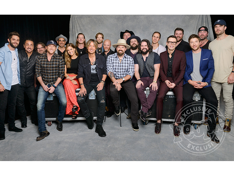iHeart Country Festival 2016 Group Photo