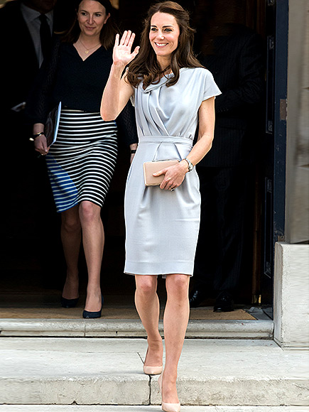 Pretty in Pink Princess Kate! The Royal Mom Steps Out at Her Portrait Unveiling (Not Spotted: Marvin the Royal Hamster)| The British Royals, The Royals, Kate Middleton