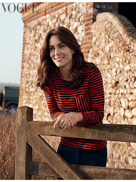 Everything You Need to Know About Princess Kate's Vogue Cover Shoot: The Hair, the Car and (Of Course) the Clothes| Vogue, The British Royals, The Royals, Kate Middleton