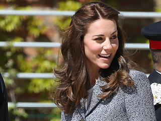 Princess Kate Tours Medieval-Themed Playground, Says Prince George 'Would Be a Bit Scared' of 25-Foot Dragon
