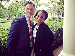 It's Handled: Scandal Stars Tour the White House Before Correspondents' Dinner; Scott Foley Says, 'We're Going to Take This Damn Thing Over!'