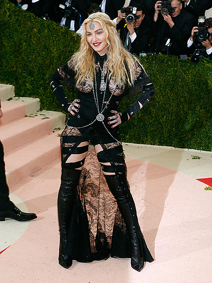 Madonna Hits Back at Ageist and Sexist Critics of Her Met Gala Look