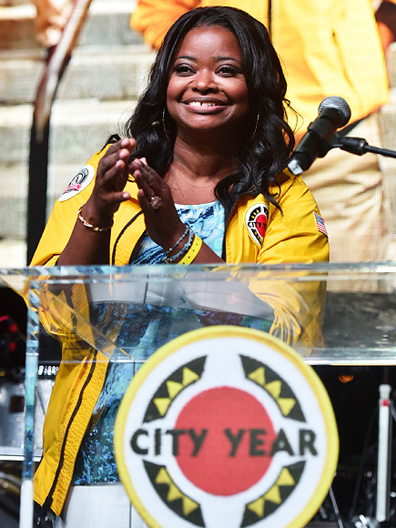 How Octavia Spencer Is Helping Kids Graduate Through City Year