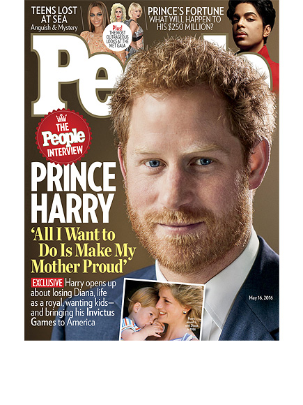 'All I Want to Do Is Make My Mother Incredibly Proud': Prince Harry on Diana and Why There Is 'A Lot of My Mother in Me'