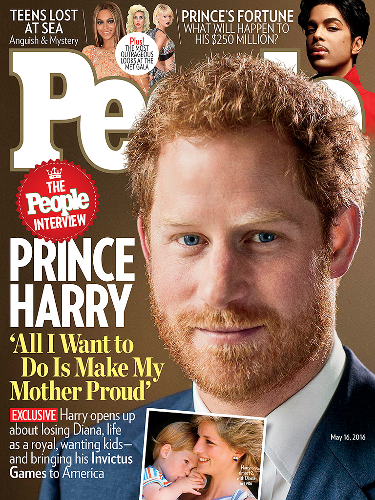 Prince Harry on Diana: 'All I Want to Do Is Make My Mother Incredibly Proud'