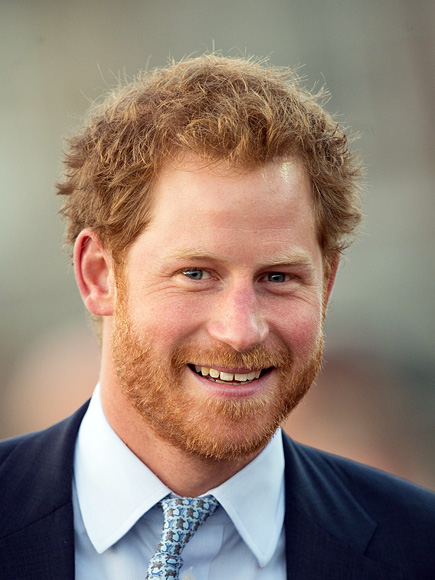 Prince Harry on 'Panicking' About Getting Old