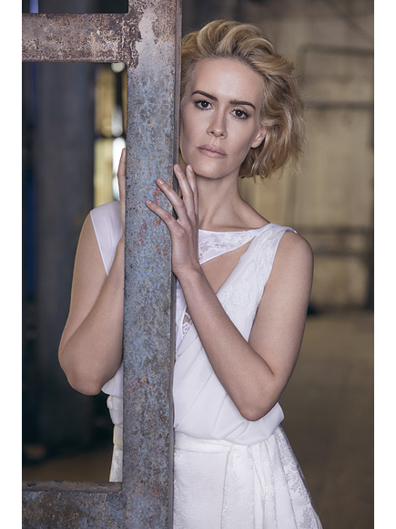 Sarah Paulson: 'You Should be Able to Love Whomever You F----- Well Please'  Gay and Lesbian, American Crime Story, American Horror Story, TV News, Holland Taylor, Sarah Paulson