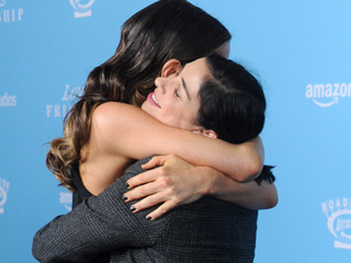 Kate Beckinsale Shares a Friendly Hug With Ex Michael Sheen's New Girlfriend Sarah Silverman