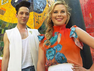 Johnny Weir and Tara Lipinski Will Be Olympic Commentators, Promise an 'Inside Look' at the Games and 'Some Half-Naked Athletes'