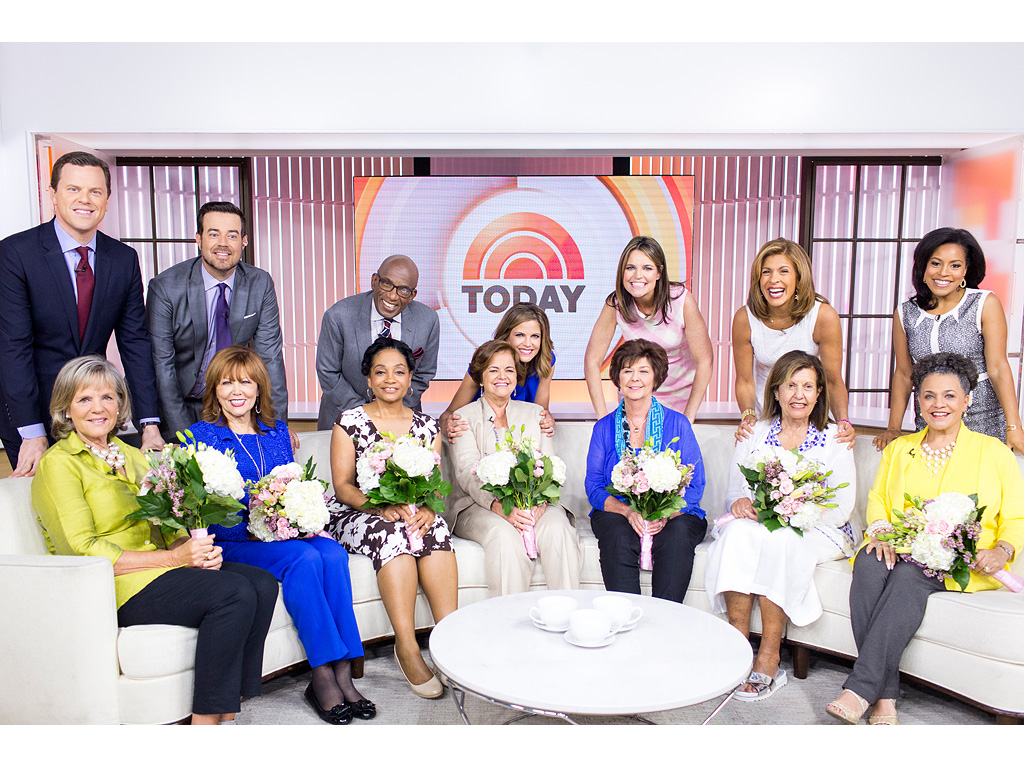 The Mother of All Surprises: Check Out the Today Show Anchors' Moms' Sweet, Surprise Set Visit| Today, Mother's Day, Al Roker, Carson Daly, Hoda Kotb, Kathie Lee Gifford, Natalie Morales