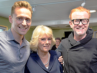 Camilla, Duchess of Cornwall 'Quite Enjoyed' Her Tight Squeeze from Tom Hiddleston (and No, He Didn't Break Royal Protocol!)