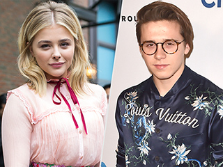 Brooklyn Beckham and Chloë Grace Moretz Celebrate Making It Official with Adorably Cheesy Insta Photo