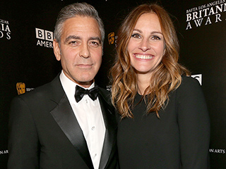 Julia Roberts Remembers the First Time She Crushed on a 'Handsome' George Clooney on TV