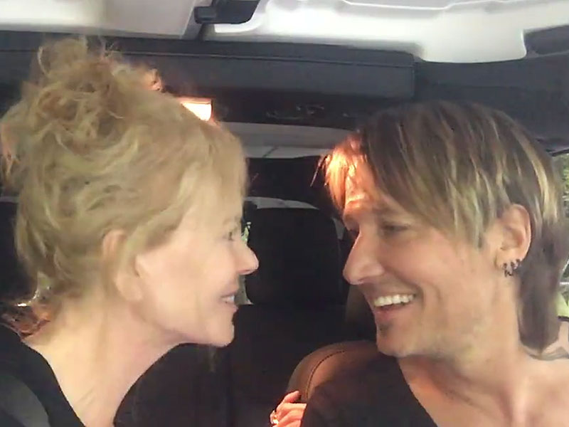 Keith Urban And Nicole Kidman Sing The Fighter In Their