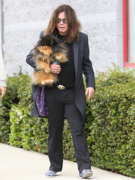 Ozzy Osbourne Steps Out After Split from Sharon as He Says He's 'Been Sober' More Than 3 Years| Breakups, People Scoop, TV News, Ozzy Osbourne, Sharon Osbourne