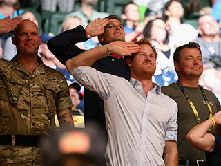 Watching Prince Harry Watch Wheelchair Rugby Will Make You Love Him More