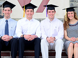 Virginia Tech Quadruplets Prepare to Graduate and Take Jobs in Different States: 'There Are Definitely Going to Be Some Tears Shed'