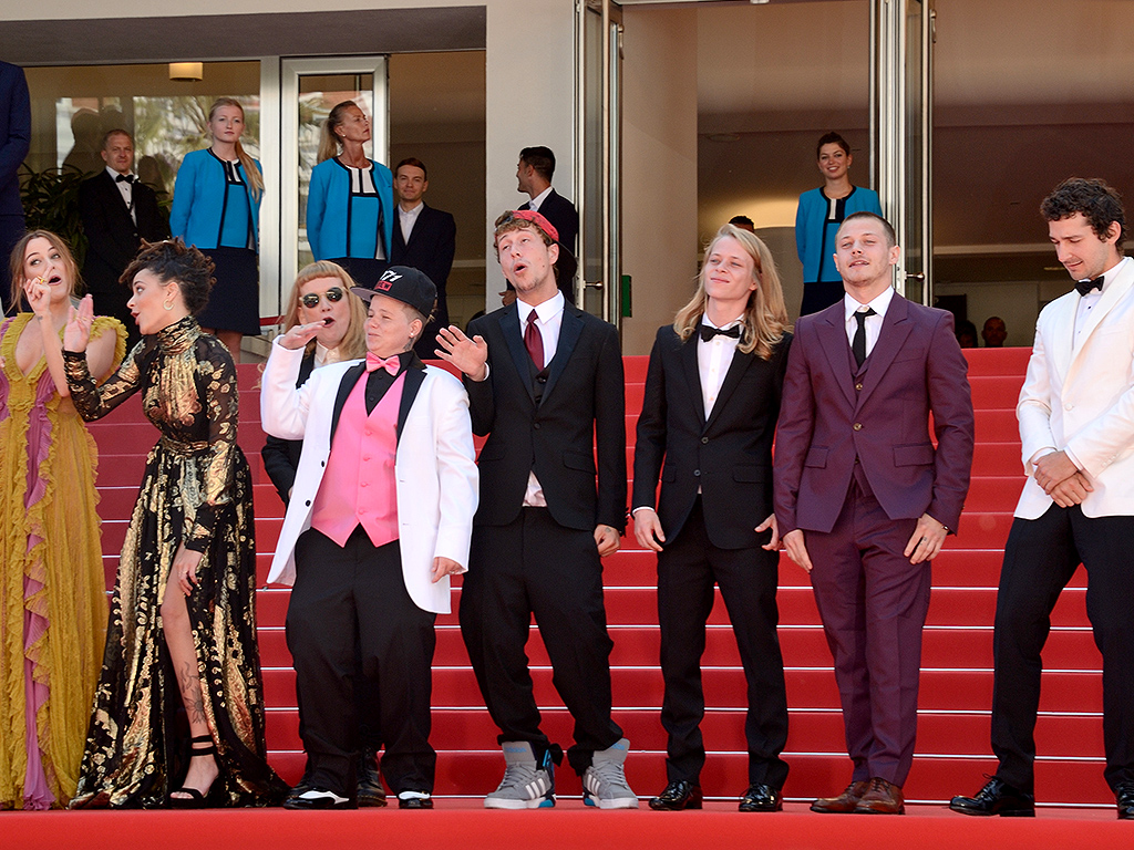 American Honey Cast at Cannes Film Festival : People.com