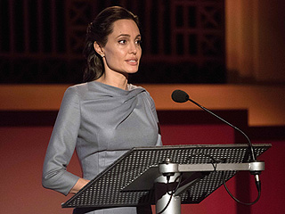 Angelina Jolie Pitt Slams Donald Trump's Anti-Muslim Comments and Urges World Leaders to Address Refugee Crisis