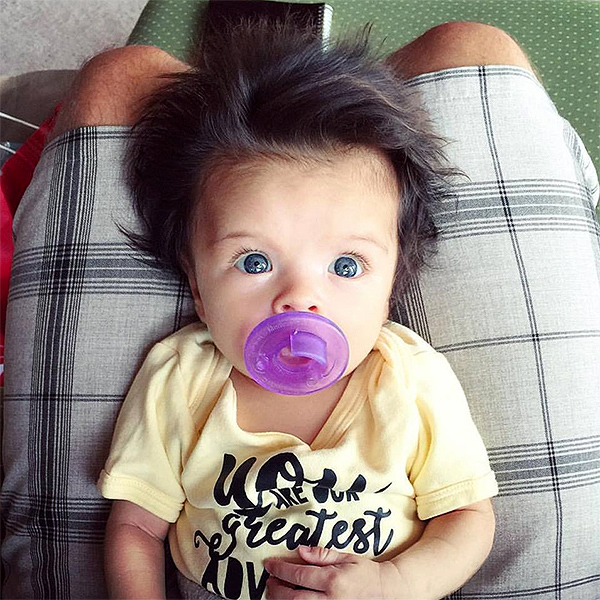 Baby With Great Hair Sweeps Internet People Com