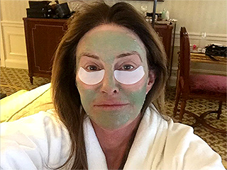 Caitlyn Jenner Celebrates the 'Joys of Being a Woman' with a Face Mask Ahead of GLAAD Media Awards Win
