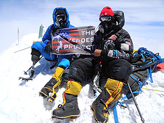 Former Marine Becomes First Combat Wounded Veteran to Summit Mount Everest: 'I Got Up and I Did What It Took to Achieve a Dream'