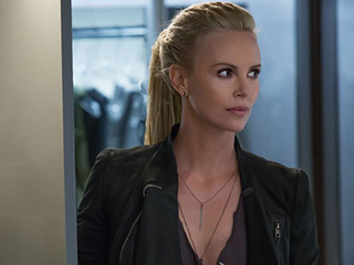 FROM EW: Fast & Furious 8 Reveals First Look at Charlize Theron's Character