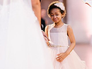 'We Made It Through the Storm': Daughter Leah Still Cries Tears of Happiness During Devon Still and Asha Joyce's Wedding