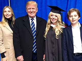 Keeping It in the Family! Tiffany Trump Wears Ivanka's Shoes as She Celebrates UPenn Graduation at Dad Donald's Golf Course