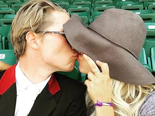 Kaley Cuoco and Boyfriend Karl Cook Smooch in New PDA Photo