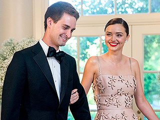 Miranda Kerr Documents Her White House State Dinner Date Night with Boyfriend Evan Spiegel on (What Else?) Snapchat