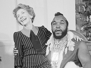 Mr. T Reveals How That Photo of Nancy Reagan Sitting on His Lap Came to Be