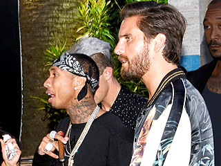 Scott Disick and Tyga Seen Partying Together for the Second Night in a Row