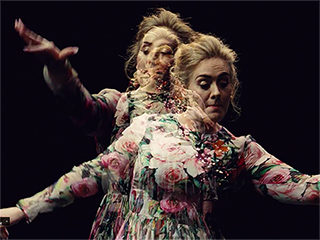 FROM EW: Behind the Scenes of Adele's Dance-centric Video for 'Send My Love (To Your New Lover)'