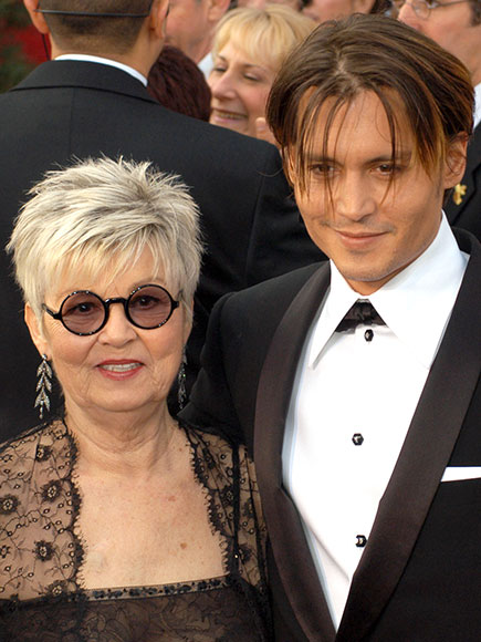 Johnny Depp S Mom Dies Inside His Close Relationship With
