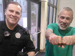 'Cops Suck:' Police Get a Laugh Out of Man's Ironic Tattoo After Peaceful Encounter