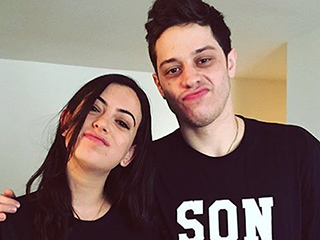 SNL's Pete Davidson Gushes About His Girlfriend Cazzie David: 'I Just Love Her Very Very Much'