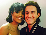 René-Charles Poses with Rihanna After Surprising Mom Céline Dion Onstage at the Billboard Music Awards