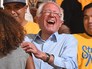 Bernie Sanders Sees a Sign in NBA Western Conference Finals: 'I Like Comebacks'