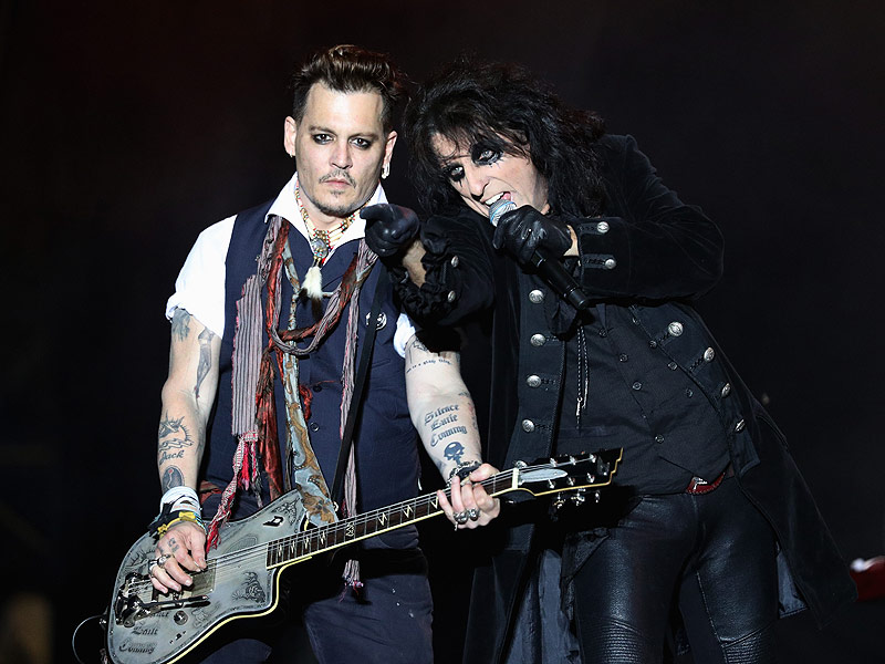 Johnny Depp Steps on Stage with Band in Germany Amid Amber Heard Abuse Allegations| Breakups, Crime & Courts, Divorced, Domestic Violence, True Crime, Nasty Breakups and Divorces, True Crime, Amber Heard, Johnny Depp