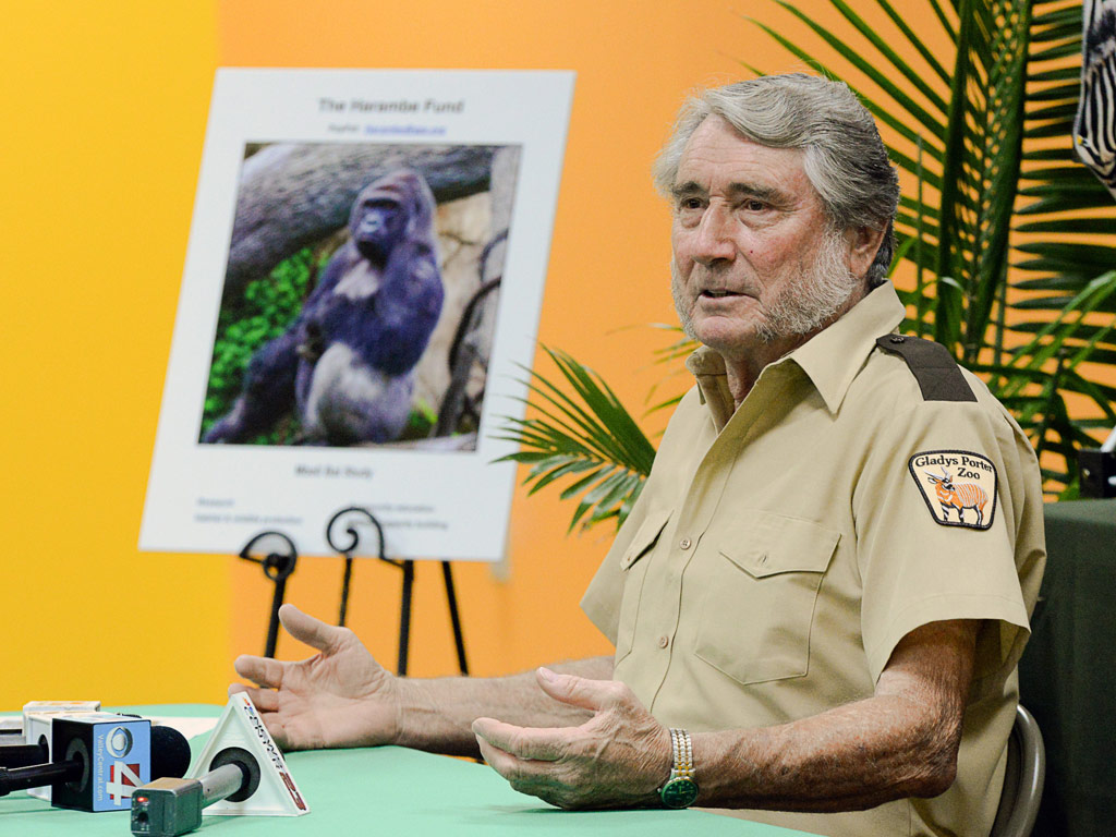 Texas Zookeeper Who Raised Harambe Mourns Death of Gorilla