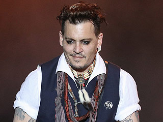 Johnny Depp Steps on Stage with Band in Germany Amid Amber Heard Abuse Allegations