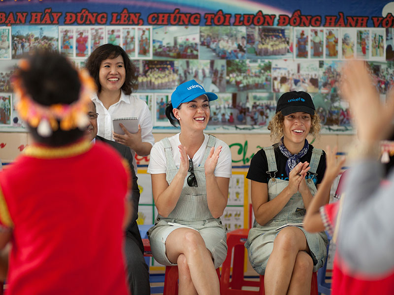 Katy Perry Visits Impoverished Children in Vietnam: 'We Have to Help Them Fight for Their Dreams'