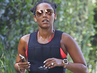 Who's Sporty Spice Now? Mel B Goes Jogging in a Weighted Running Vest
