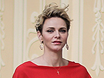 The Lady in Red! All Eyes Are on Princess Charlene at Royal Cocktail Party Ahead of the Grand Prix