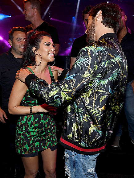 Tyga, Kourtney and Khloé Join Scott Disick's Vegas Birthday Party: 'Love and Support Is the Most Important' Gift| Birthday, Khloe Kardashian, Kourtney Kardashian, Scott Disick, Tyga
