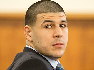 Aaron Hernandez Meets With Attorney Jose Baez as He Vows to 'Vigorously Fight' Additional Charges