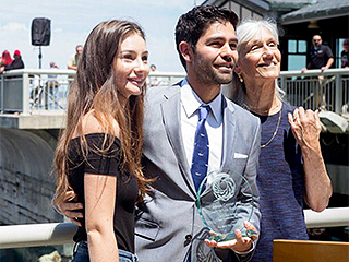 Meadow Walker Continues Father's Legacy by Presenting Adrian Grenier with 2016 Paul Walker Ocean Leadership Award